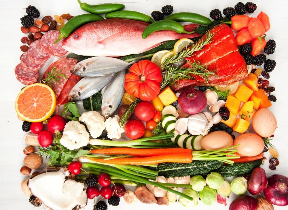 Paleo Lebensmittel