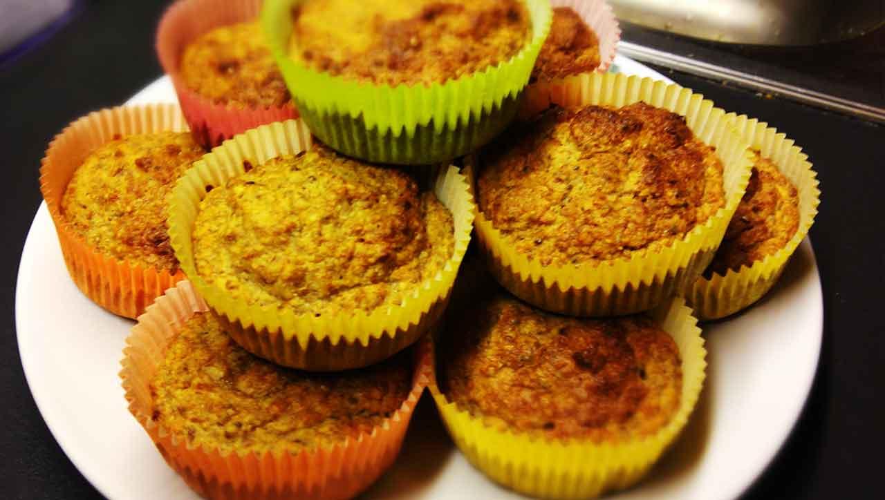 Paleo Fruehstuecks Muffin