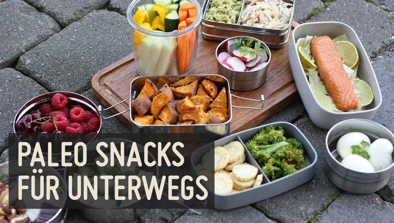 Paleo Snacks – Gesunde Ernährung auch Unterwegs