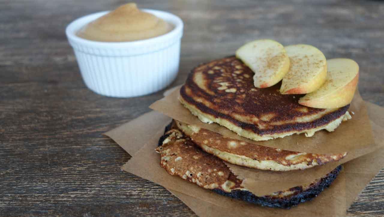 Drei Zutaten, ein Genuss: Paleo Pfannkuchen