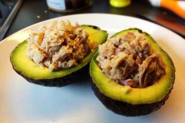 Thunfisch Avocados