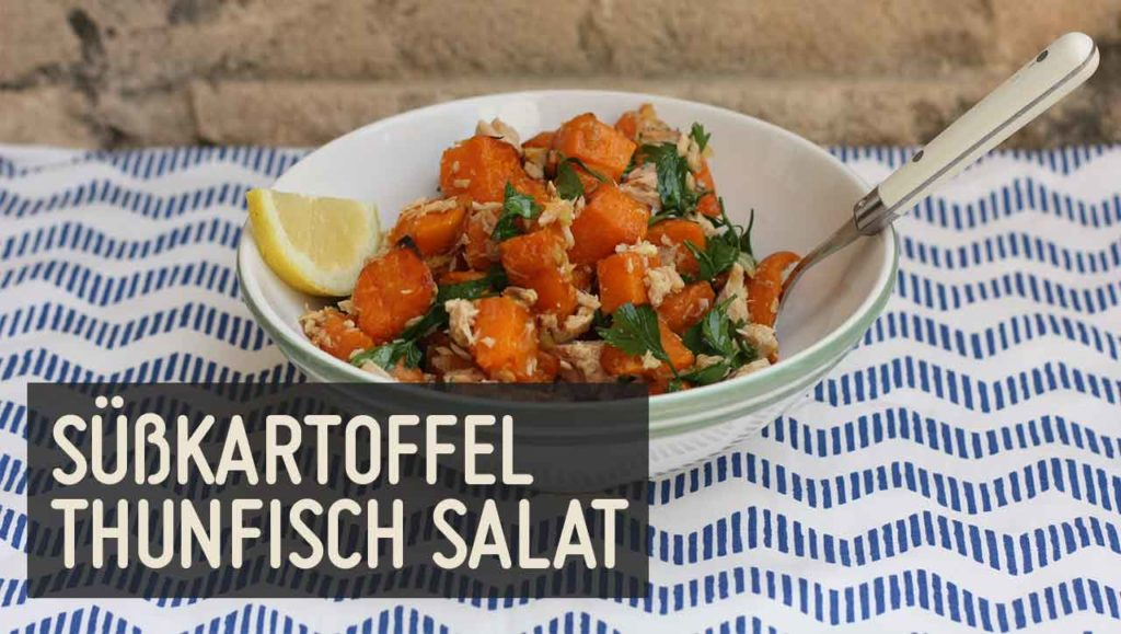 süßkartoffel thunfisch salat