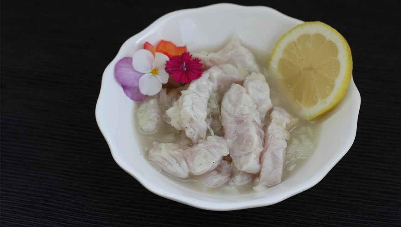 Fisch Ceviche