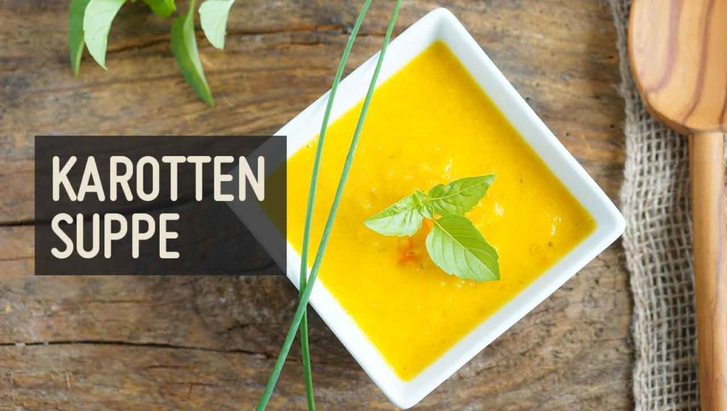 Karottensuppe Mango
