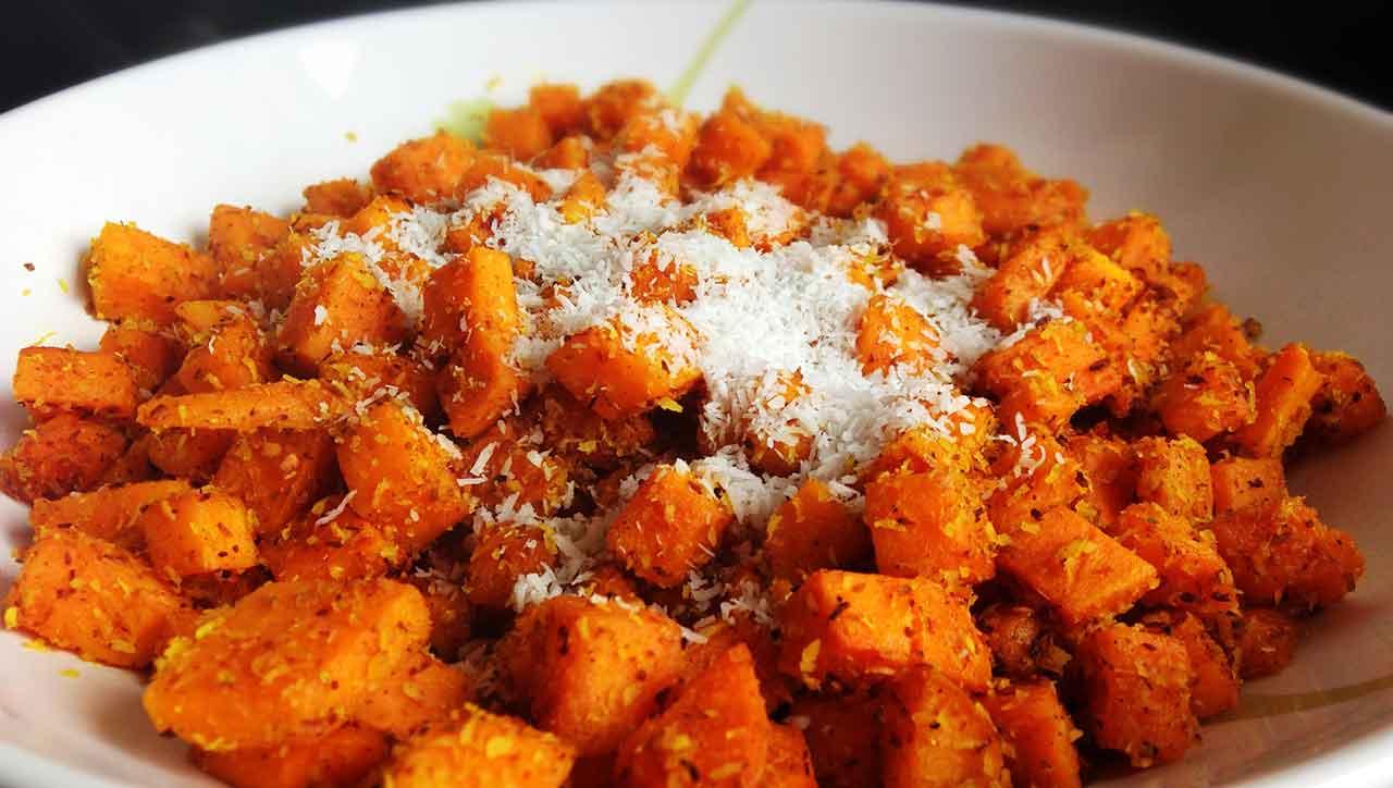 Kokos-Curry-Süßkartoffeln