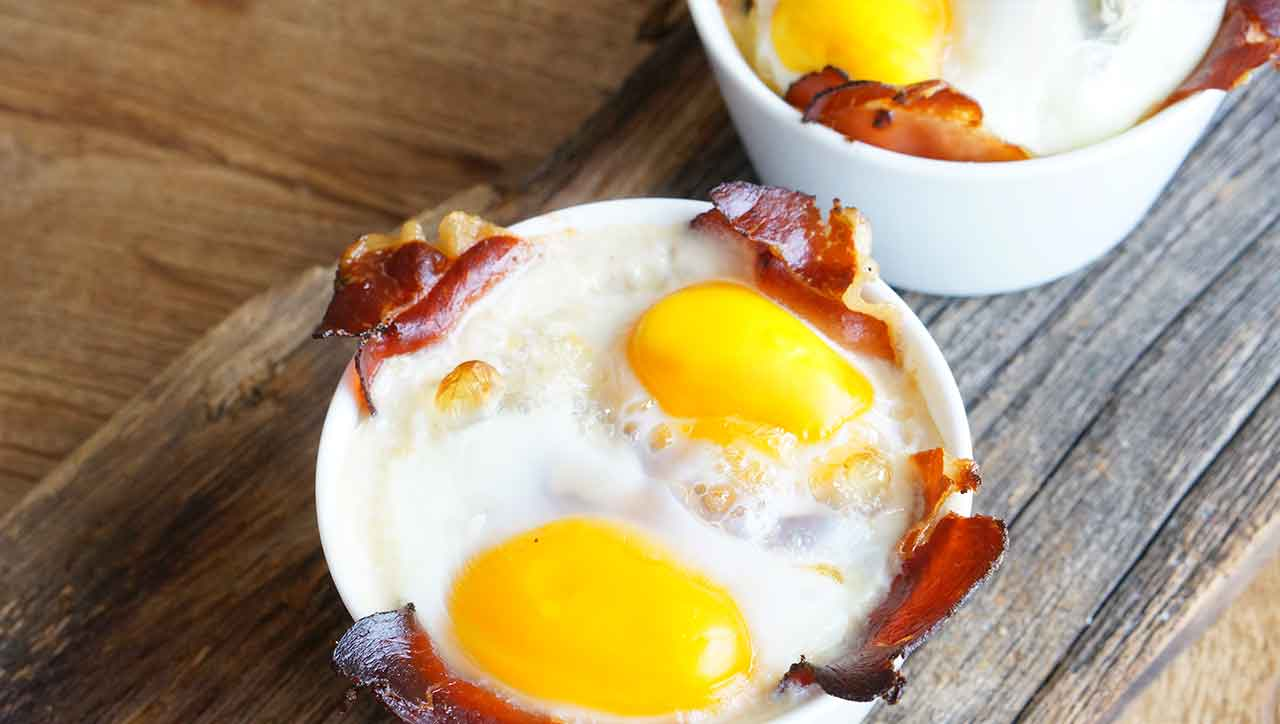 Abwechslung für´s Frühstück mit dem Ofen-Ei.