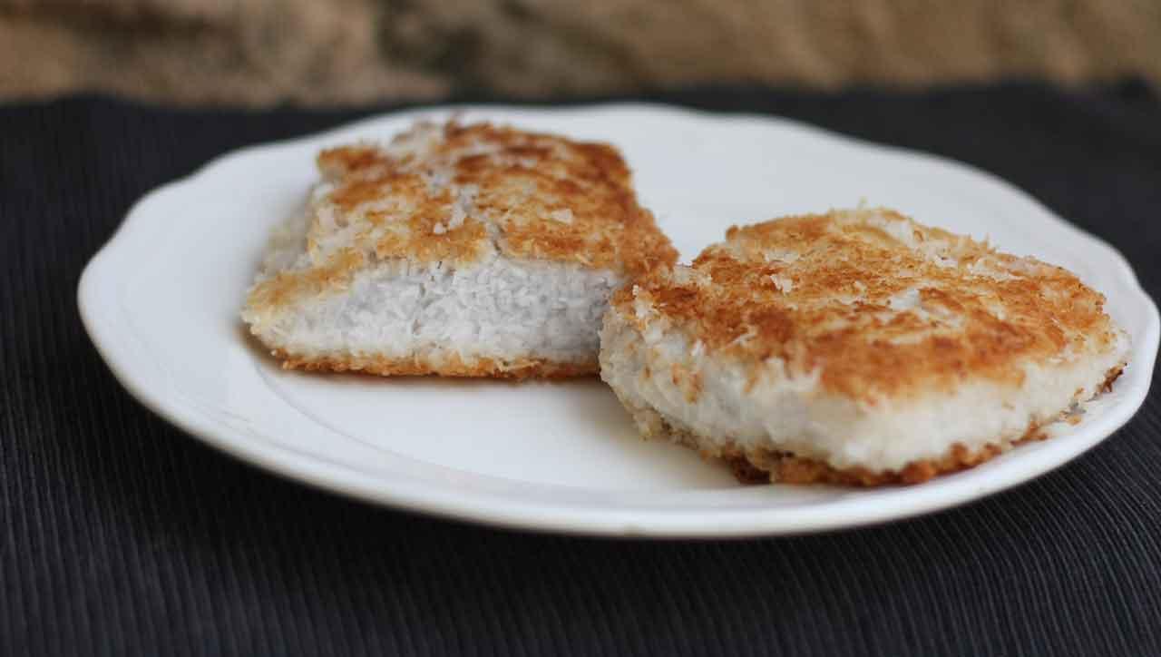 In Kokos panierter Fisch: Saftig, knusprig, lecker