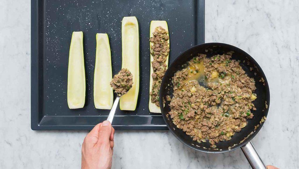 zucchini füllen
