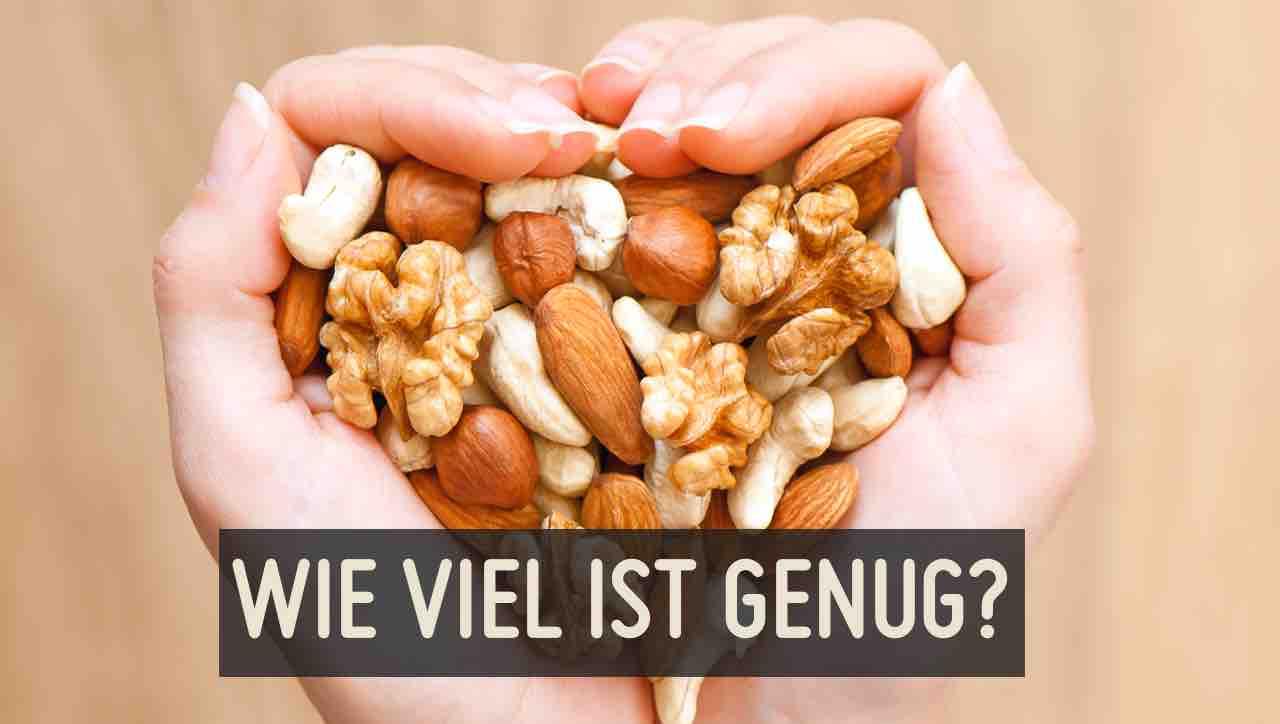 Wie viel Nüsse sind gesund?