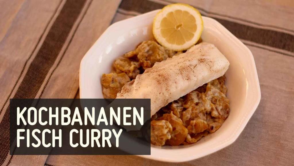 kochbananen curry