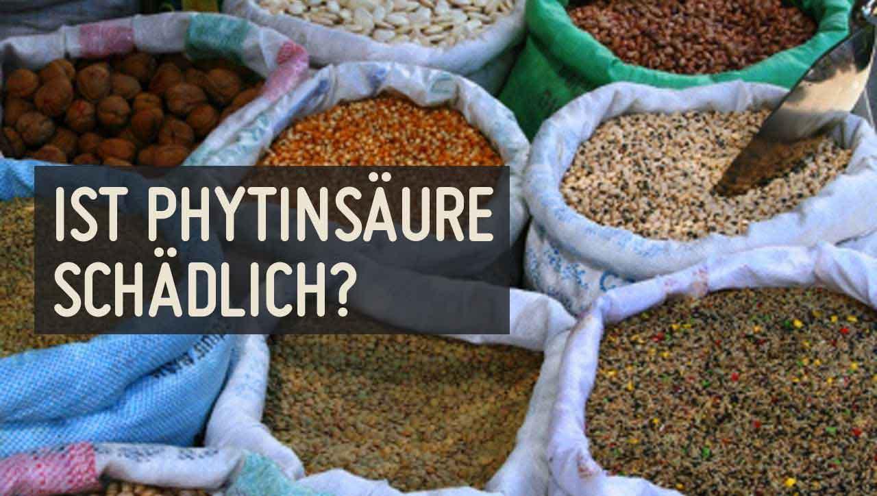 Phytinsäure steckt vor allem in Getreide, Hülsenfrüchten und Nüssen