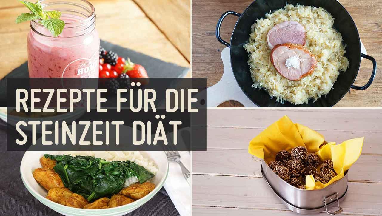 Steinzeit Diät Rezepte – schnell & einfach