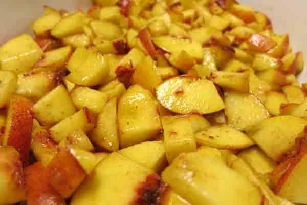 Warmer Früchte: einfach lecker