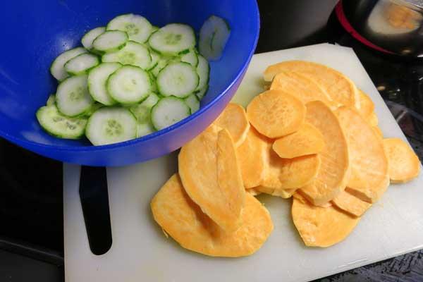 Kartoffel und Gurke: Gute Kombi