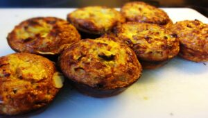 Apfel Eier Muffins
