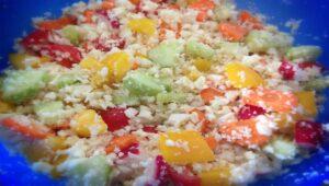 Blumenkohl Reis Salat