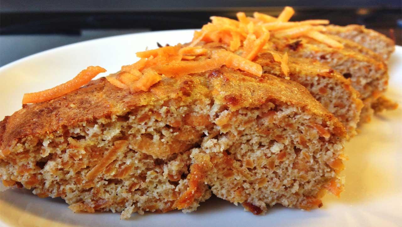 Karottenbrot mit Kokos