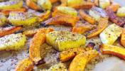 gebackener Kuerbis Ananas