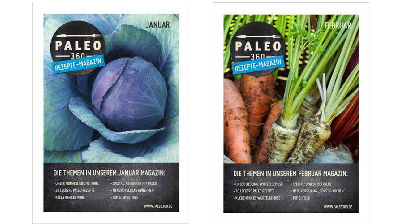 Zeitschrift Rezepte rezepte magazin paleo360 de