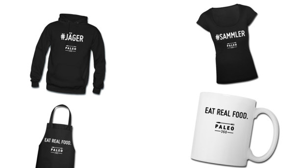 Spreadshirt Shop Paleo360 Produkte