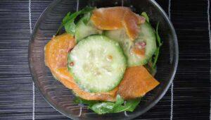 gurkensalat mit Kartoffel