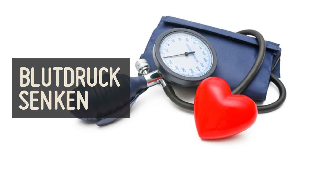 Blutdruck natürlich senken – blutdrucksenkende Lebensmittel