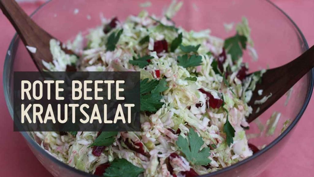 Rote Beete Krautsalat