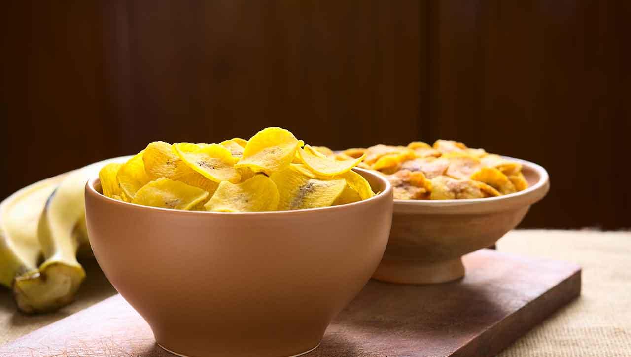 Paleo Kochbananen Chips