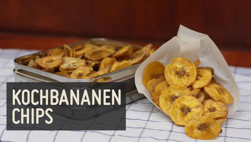 kochbananen chips rezept