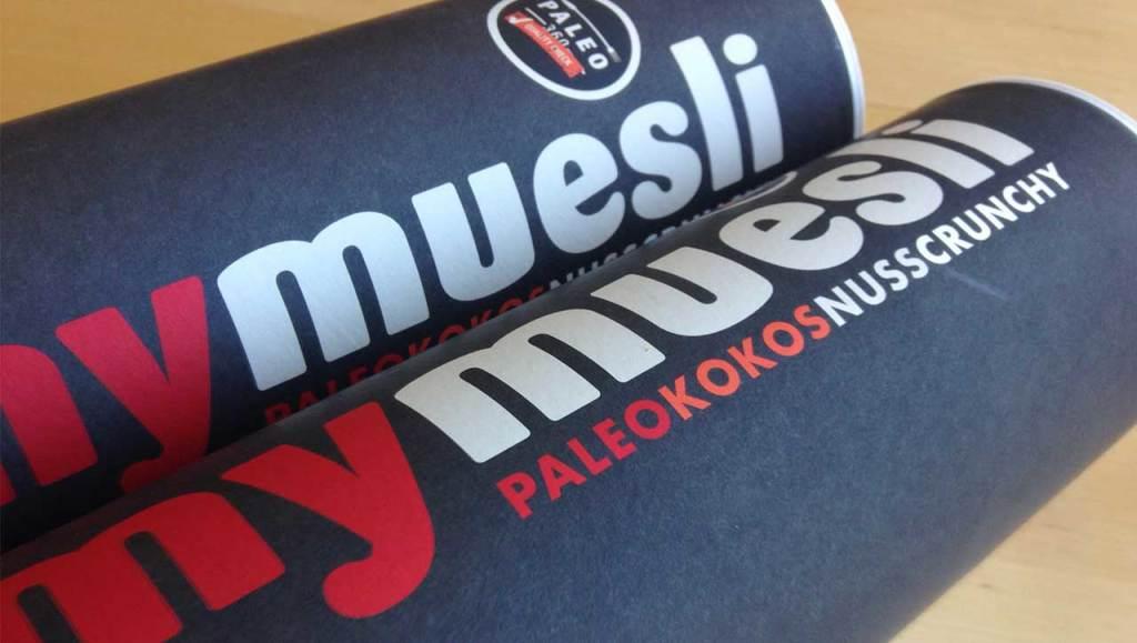 Paleo Muesli MyMuesli Kokos Nuss Crunchy Verpackung