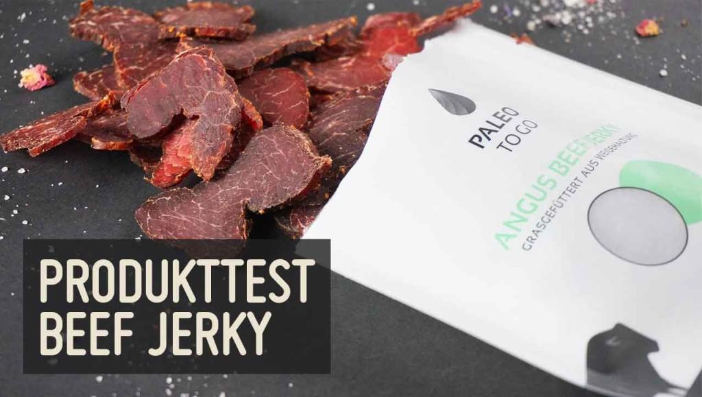 Produkttest Beef Jerky PaleoToGo