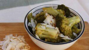 kokos brokkoli rezept