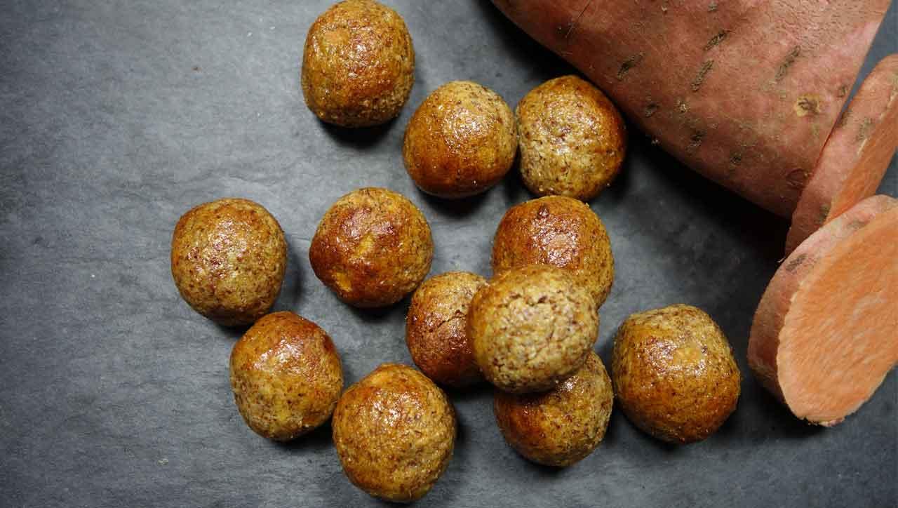 Weihnachtliche Kartoffel Kugeln