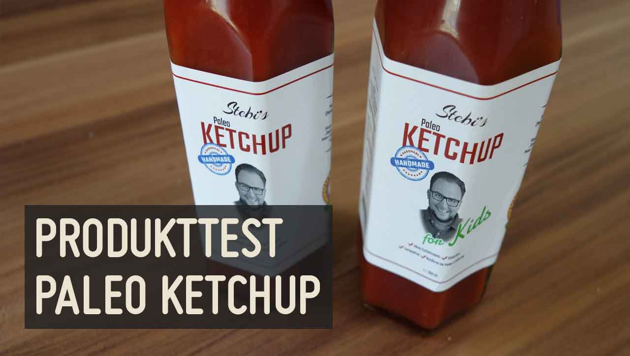 Produkttest Stebi's Paleo Ketchup