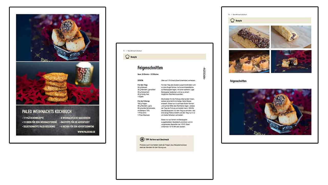 Produktvorschau Weihnachtskochbuch