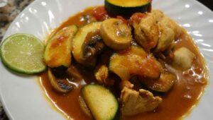 Zimtiges Hähnchen Curry