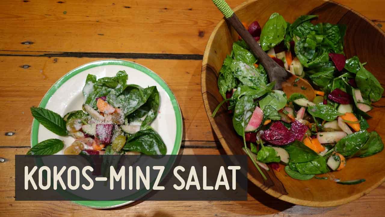 Kokos Minz Salat
