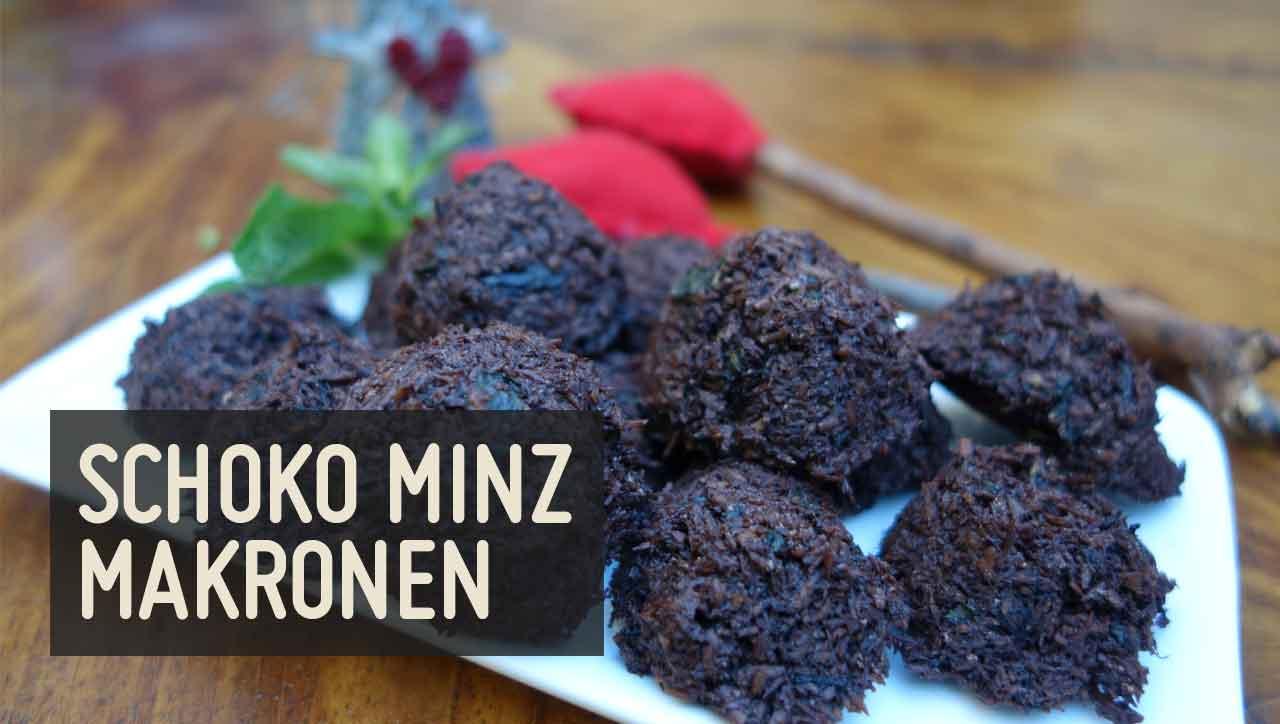 Schoko Minz Makronen
