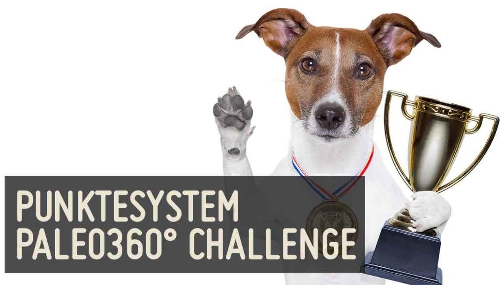 Punktesystem Paleo360 Challenge