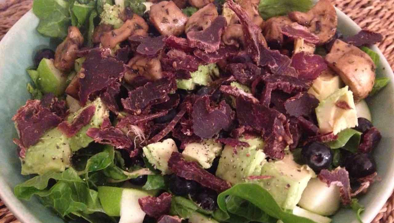 Beef Jerky Salat