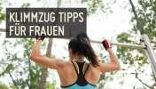 Klimmzug Tipps für Frauen