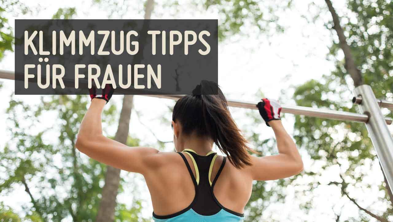 Klimmzüge trainieren für Frauen – 4 Tipps für perfekte Pull Ups