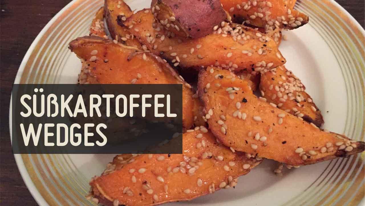 Süßkartoffel wedges