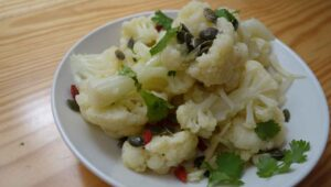 Blumenkohl Salat