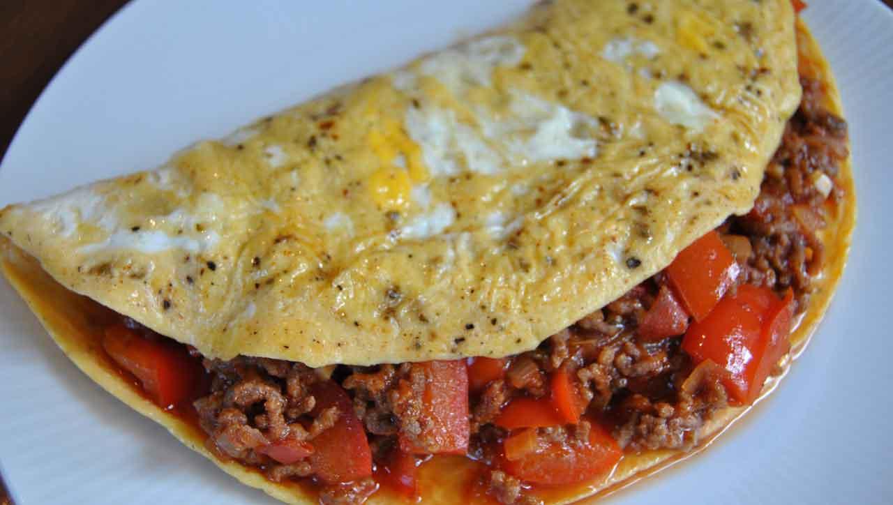 Chili con Carne Omelett
