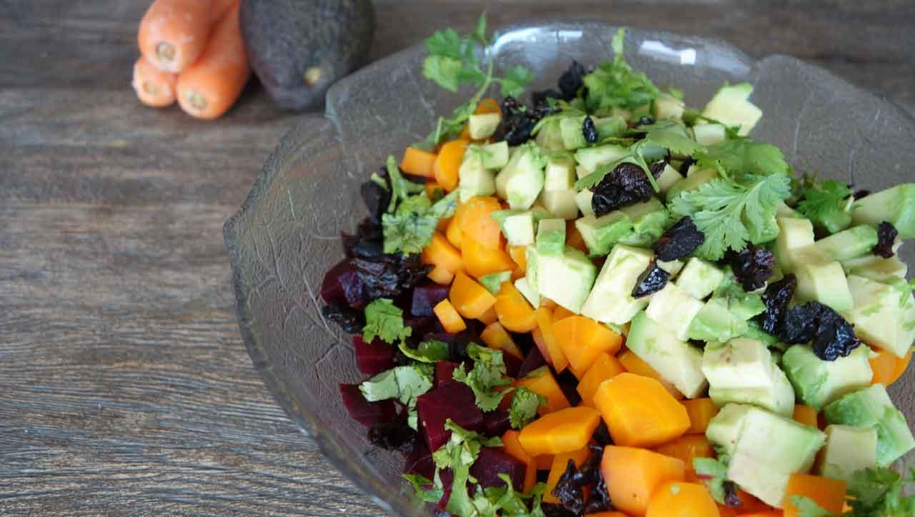 Bunter Rote Bete Salat