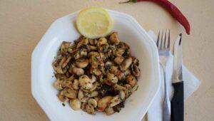 Champignon Salat