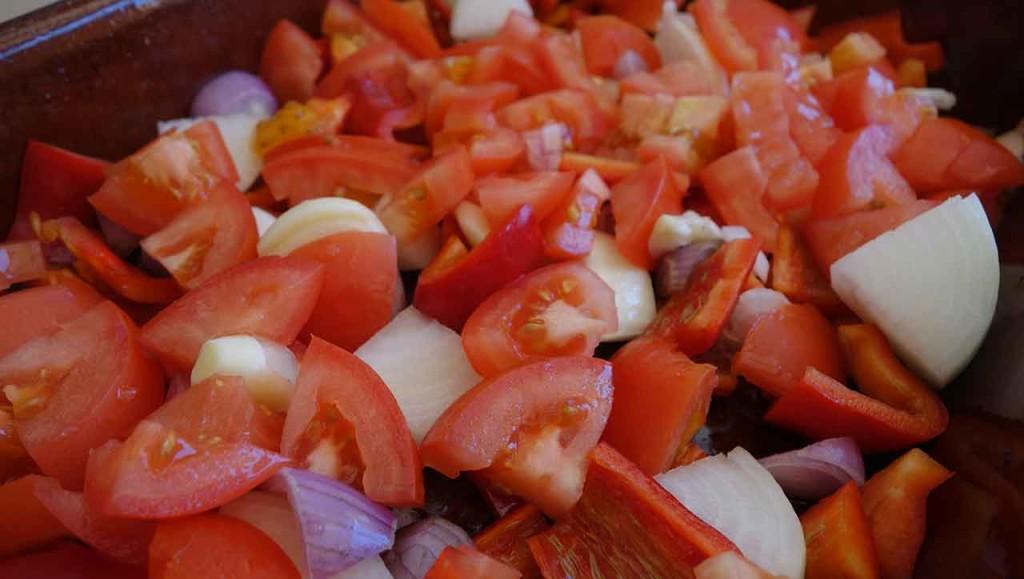Gemüsewürfel