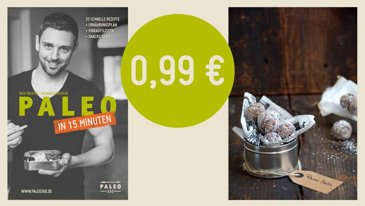 """Unser neues E-Book """"Paleo in 15 Minuten"""" bei amazon erhältlich"""