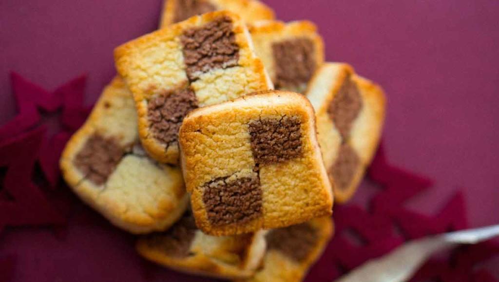 Schwarz-Weiß Kekse